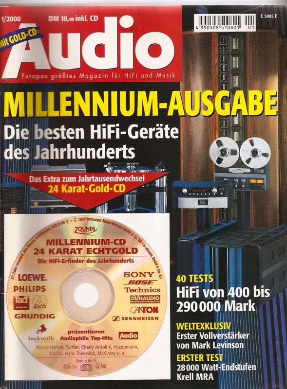 Audio Magazine Cover-Germany--RE