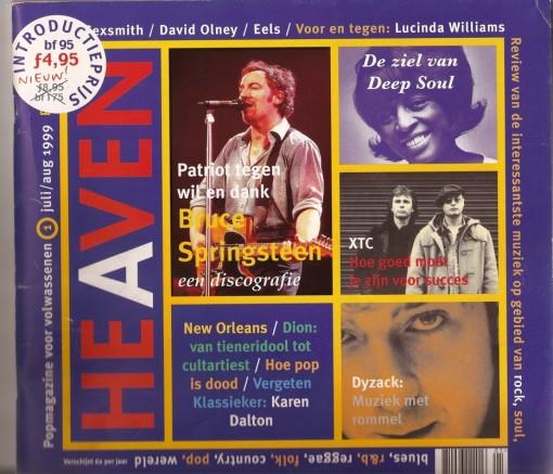 Heaven  Magazine Cover--RE