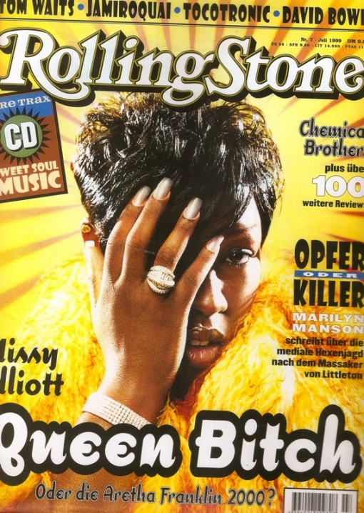ROLLING STONE COVER--RE