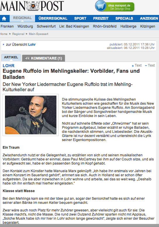 german concert review  11.11
