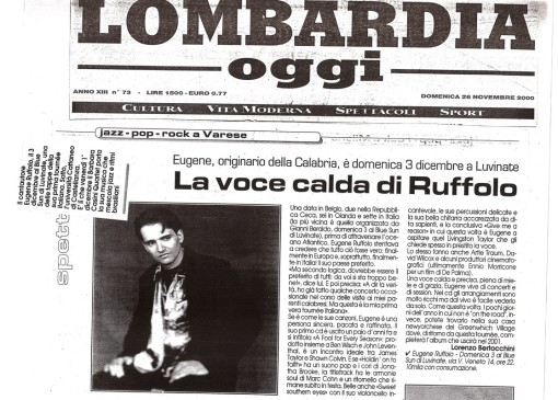 lombardt-italy--newspaper concert review--RE