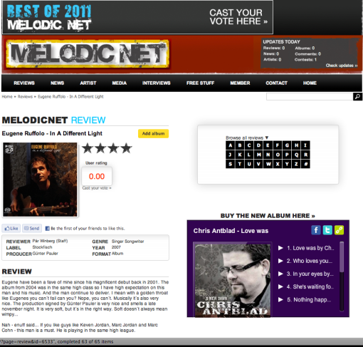 melodic net--IADL