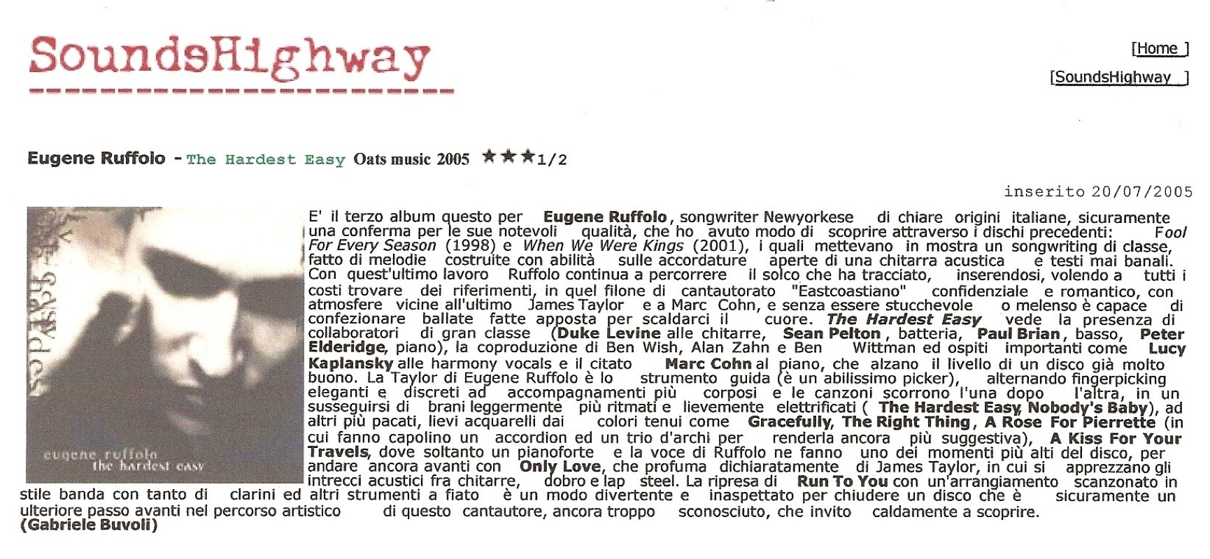 sounds highway---Italian--RE